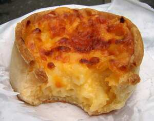 Macaroni pie (Scottish)
