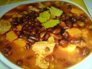 Cuban Red Bean and Rib Soup