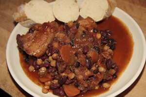 Pork and Bean Cassoulet