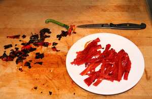 Roast red pepper relish