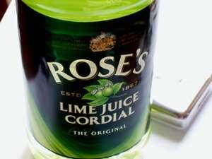Lime cordial recipe Accompaniments