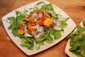 Winter squash and walnut salad, plated.jpg