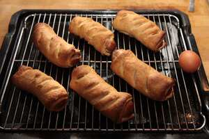 The best sausage rolls in the world