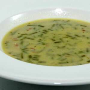 Bouneschlupp (Green bean soup)