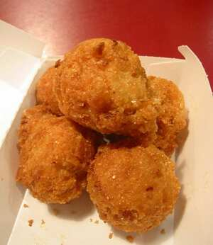 Hush puppies, Vegetarian recipe