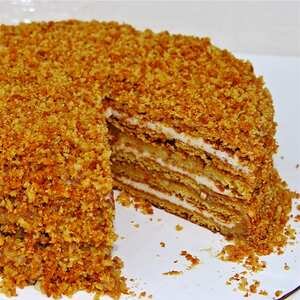 Ukrainian Honey Cake Recipe