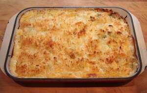 Basa and cheese pasta bake a cheese recipe