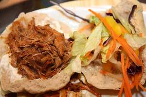 The renowned Mr Brown's Pulled Pork (Slow cooker recipe)