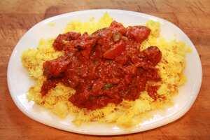 Garlic chilli chicken, Indian recipe