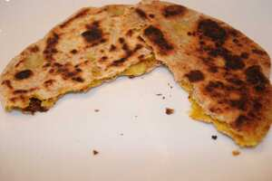 Stuffed parathas