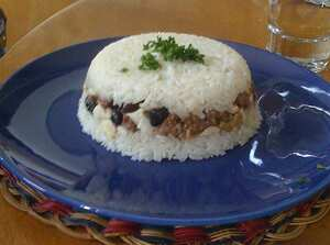 Arroz tapado, a fruit recipe Cooking Wiki